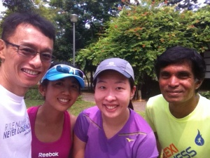 rameshon murugiah running coach