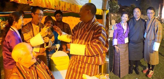 2014-12-24 bhutan ministers