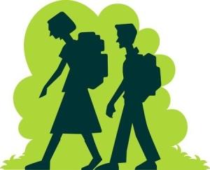 walking school