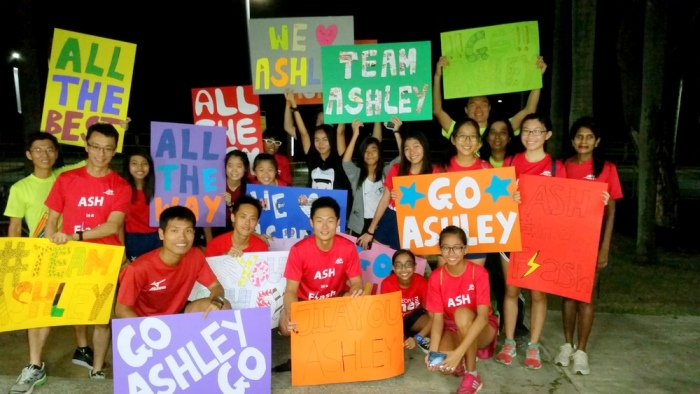 ashley liew support marathon