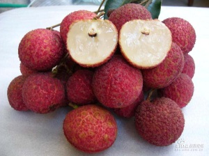 seedless lychees