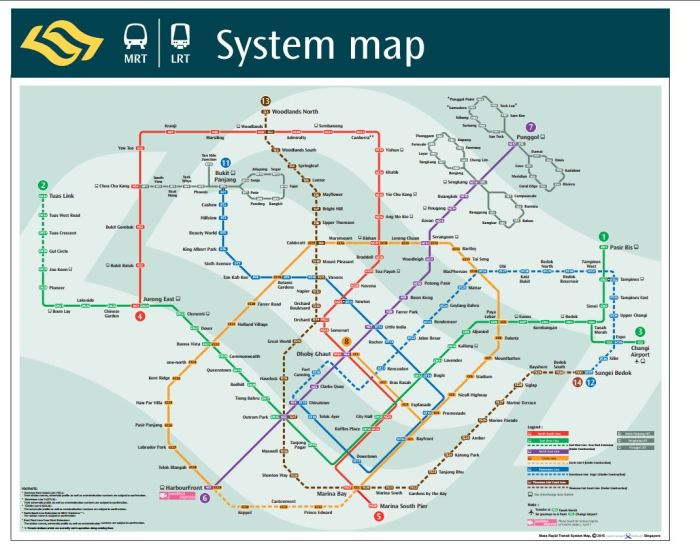 Train System Map July 2014